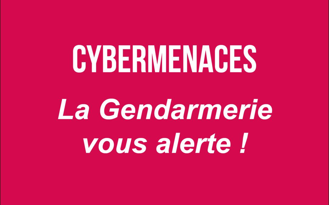 Alerte aux cybermenaces