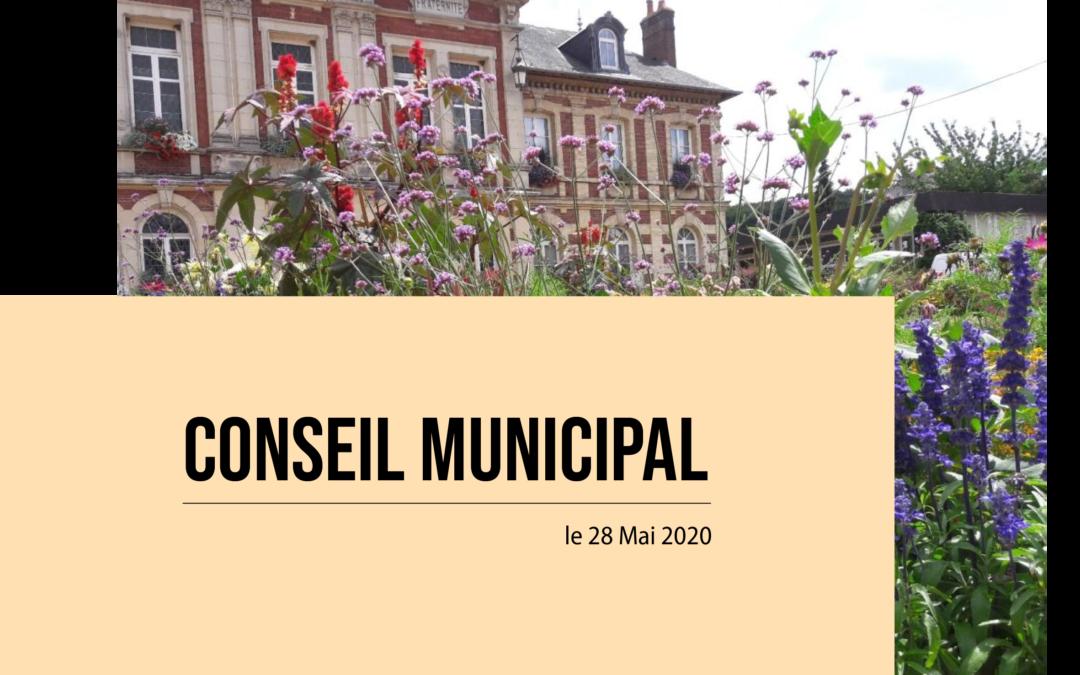 Installation officielle du nouveau Conseil Municipal