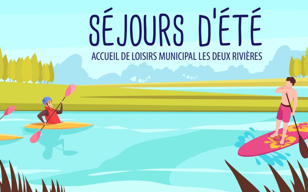 L'accueil de loisirs municipal Les deux rivières accueille vos enfants cet été !