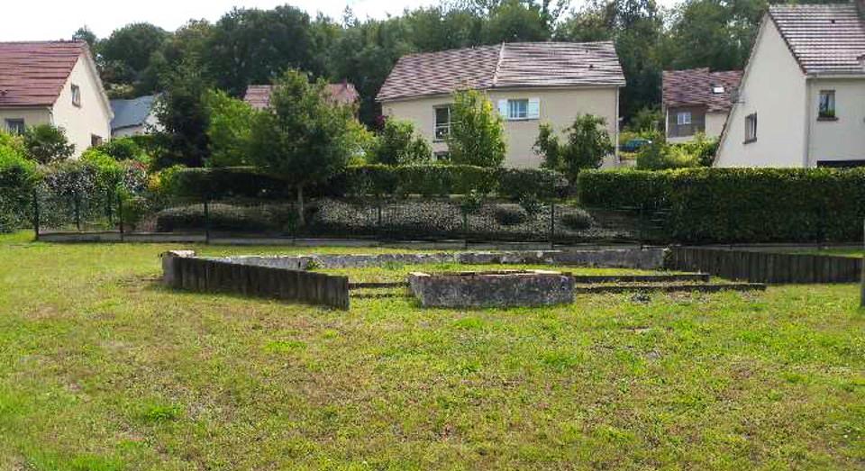 Aménagement d'un espace public au Domaine Saint-Hubert