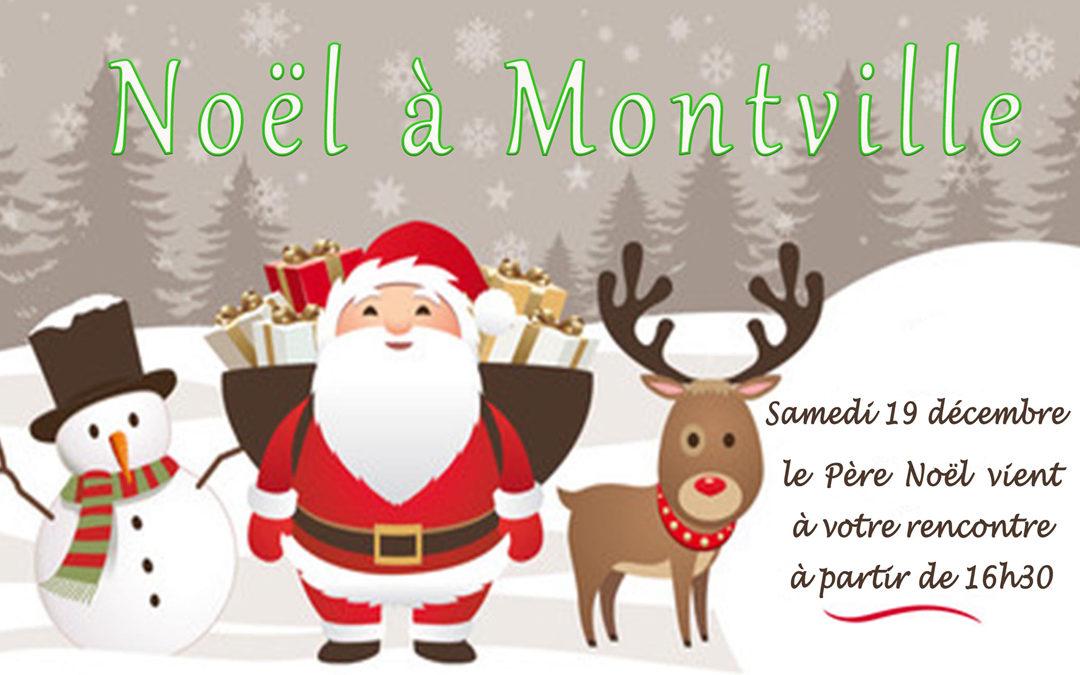 Le Père Noël vient à ta rencontre