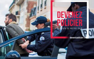 Recrutement d'Adjoints de Sécurité de la Police Nationale
