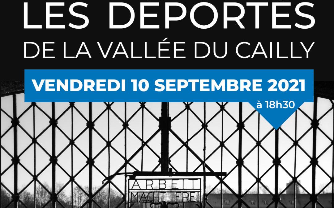 Conférence «Les Déportés de la Vallée du Cailly»
