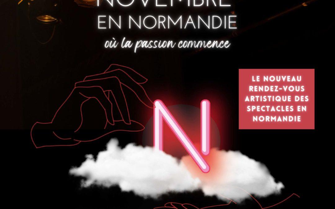 Le festival de théâtre NOVEMBRE EN NORMANDIE